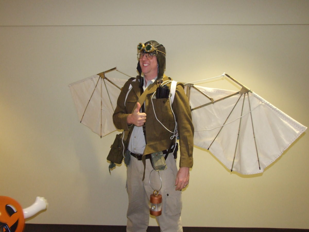 Halloween 2008: Crazy Aviator Costume