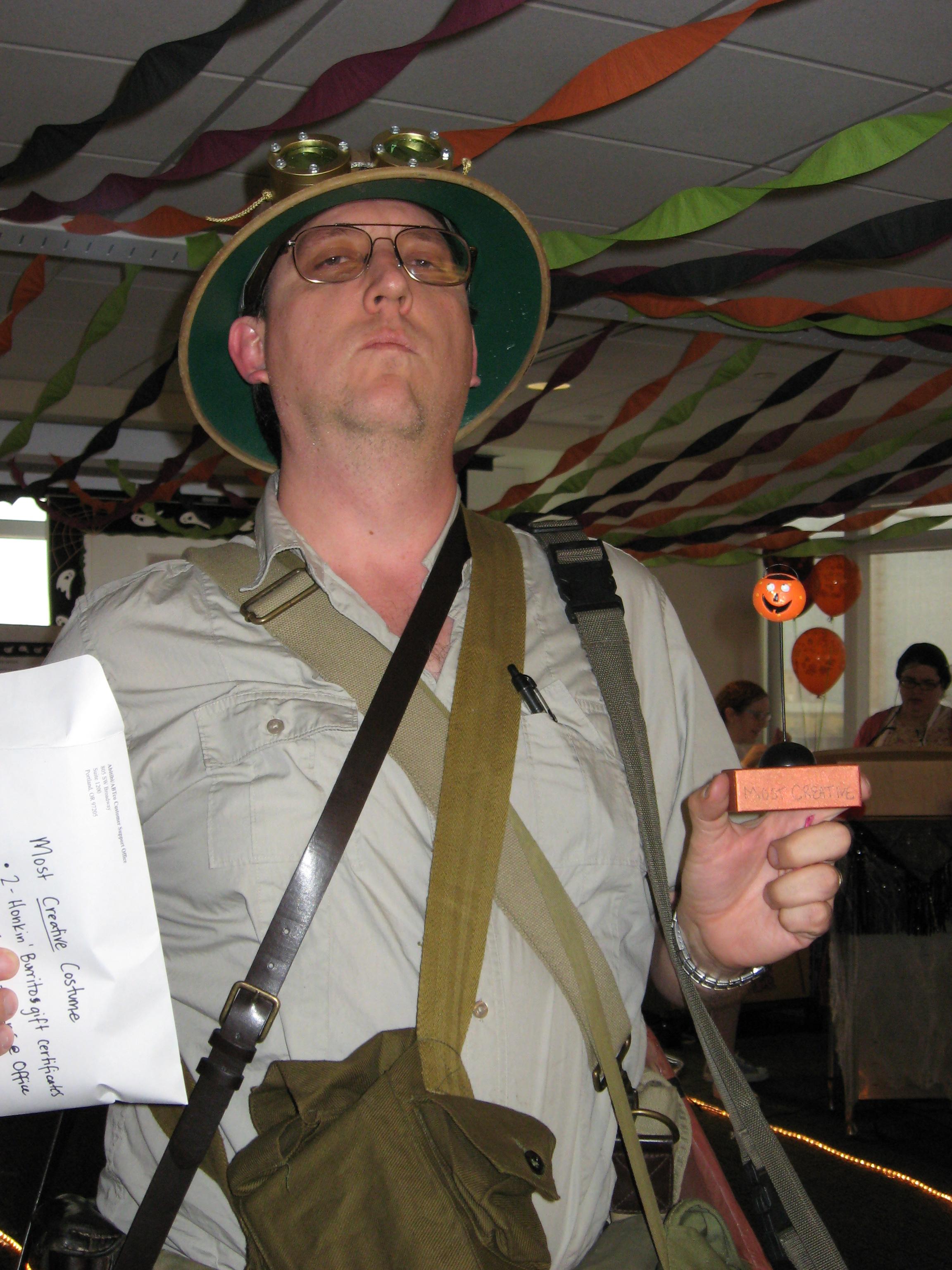 Halloween 2007 Crazy Explorer Bolis Com