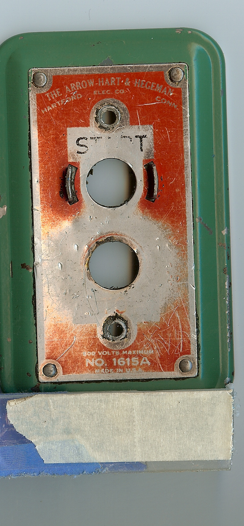 Original switch plate