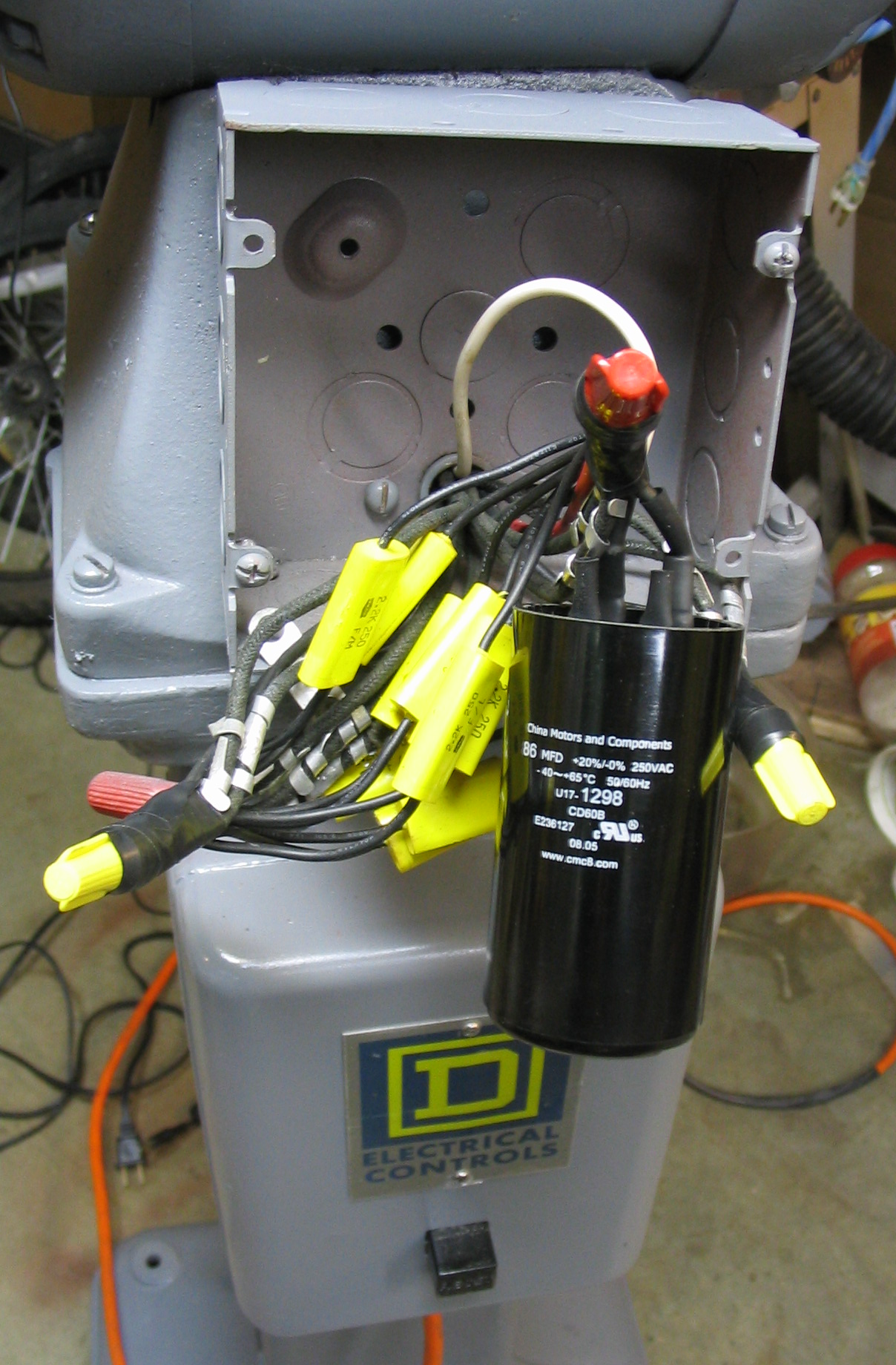 Final start capacitor
