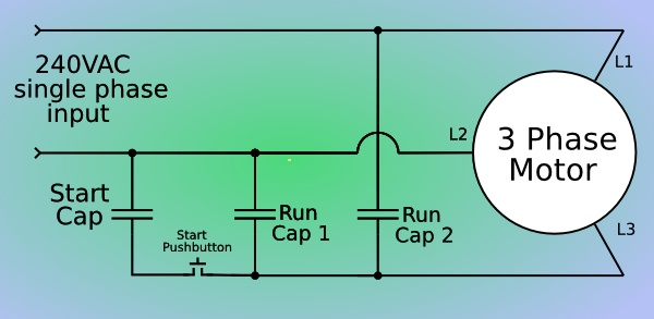 Phase converter schematic