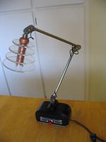 Art Deco LED desk lamp