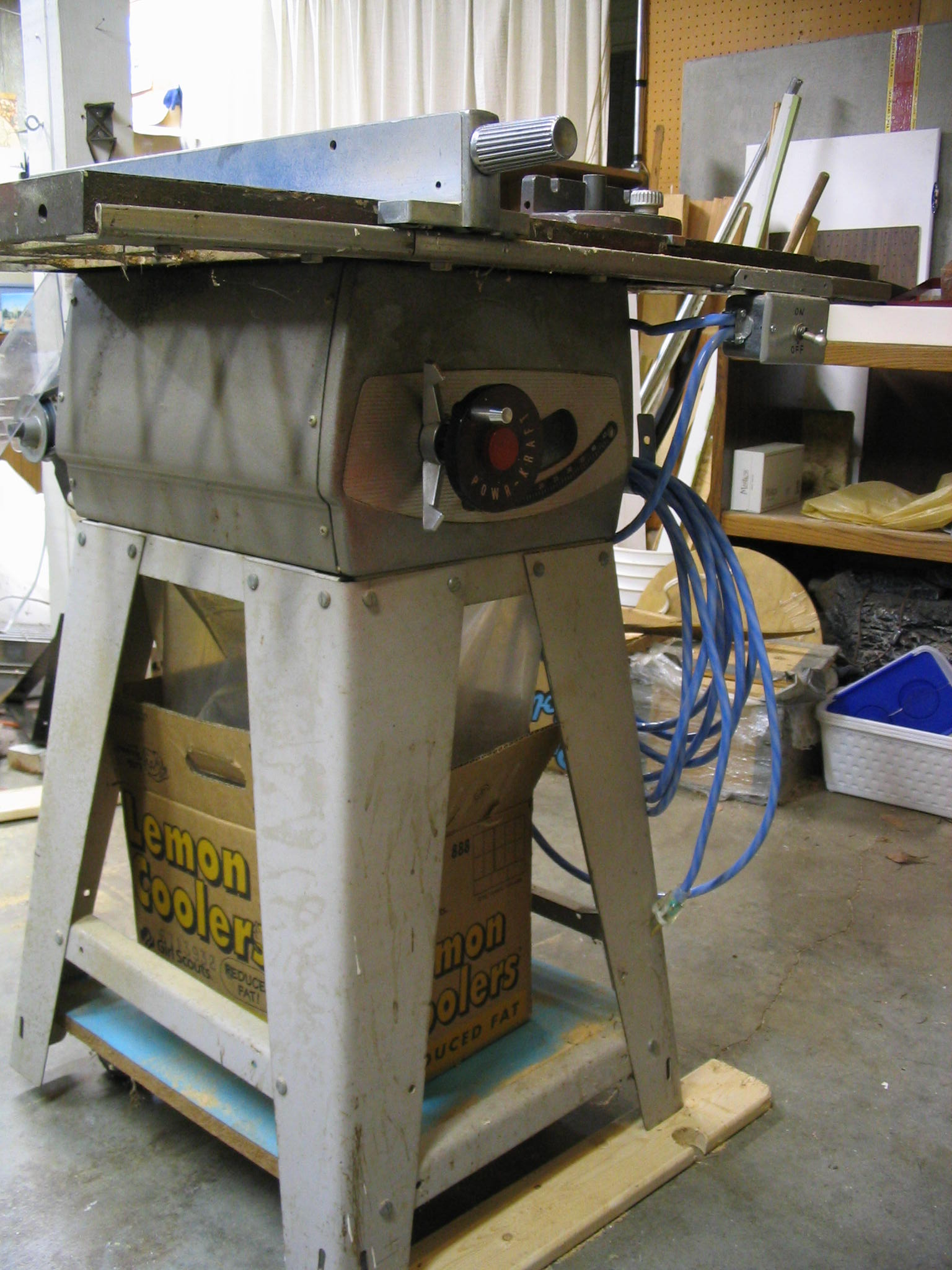 Tablesaw wiring repair bolis switchbox greentooth Choice Image