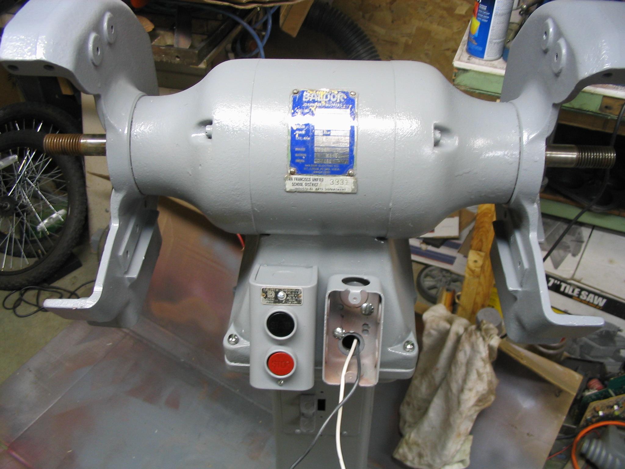 Wiring Diagram 120 240 Bench Grinder Schematics Diagrams Delta Vac Photocell Dayton Switch Old